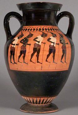 Pot Jar Grece Antique Echasses