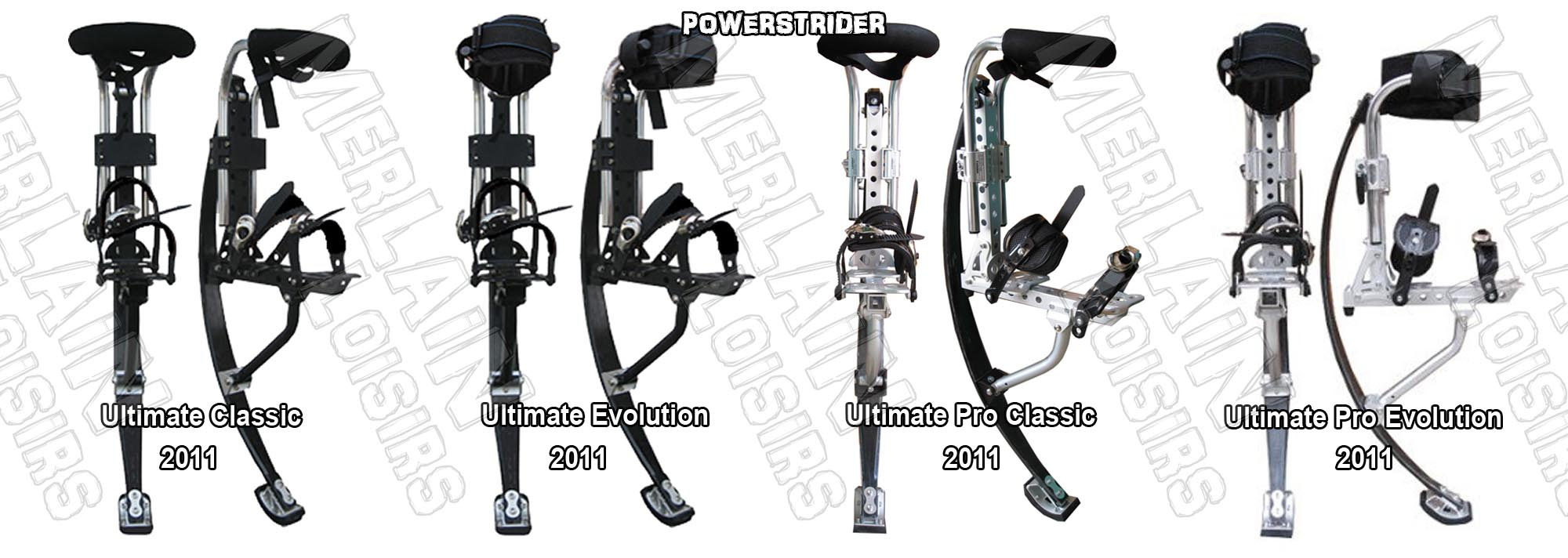 powerstrider adulte ultimate classic evolution pro 2011