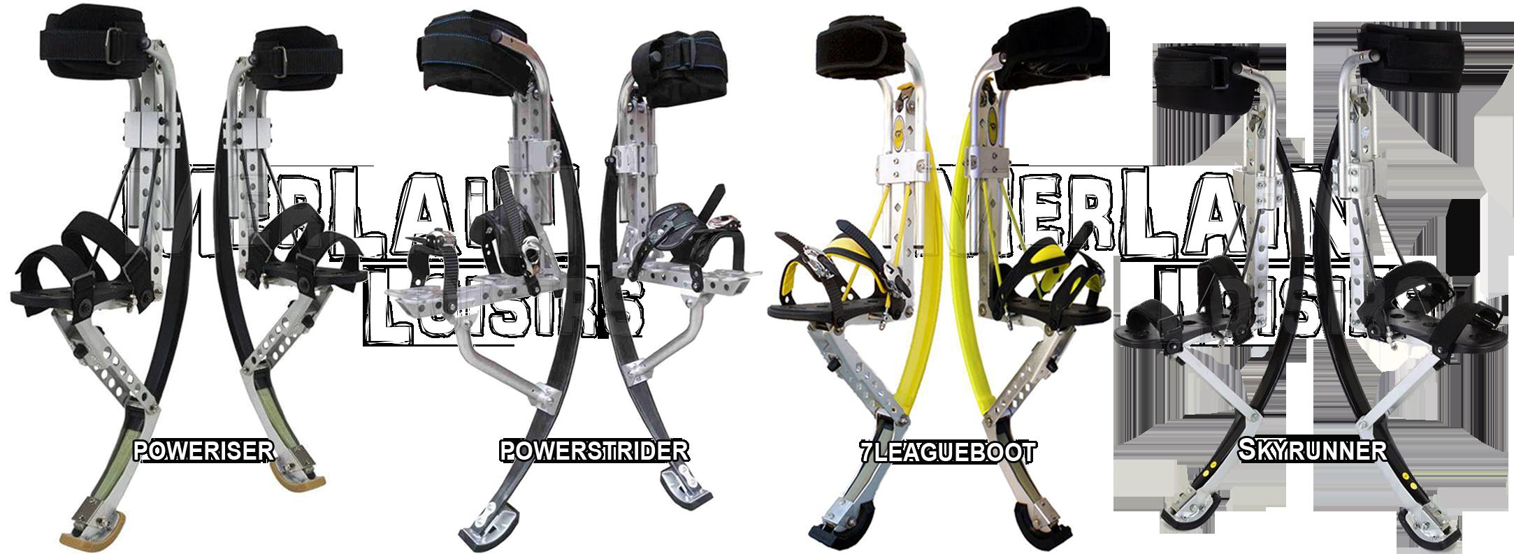 Poweriser Powerstrider 7leagueboot Skyrunner Echasses Urbaines